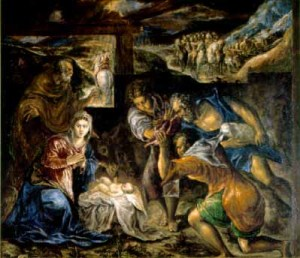 El Greco: The Adoration of the Shepherds