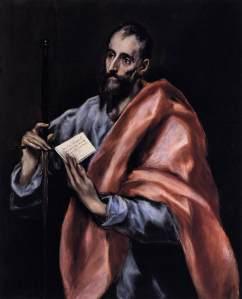 El Greco: The Apostle Paul