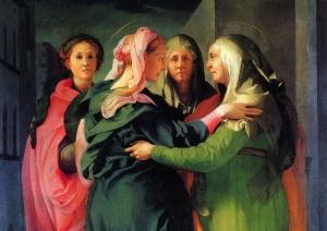 Pontormo: The Visitation