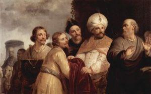 Pieter de Grebber: Elisha Refusing the Gifts of Naaman