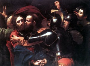 Caravaggio: Taking of Christ in the Garden