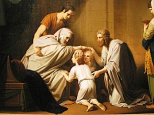 West: Jacob Blesses His Sons