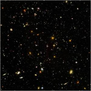 Deep Space as seen from Hubble