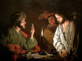 Matthias Stom: Christ Before Caiaphas