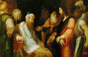 Andrea Schiavone: Christ with Herod