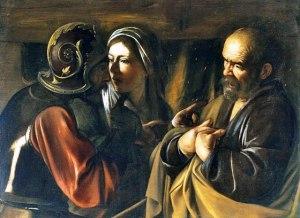 Caravaggio: Peter's Denial