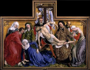 Van der Weyden: Descent from the Cross