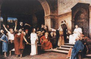 Munkacsy: Christ Before Pilate