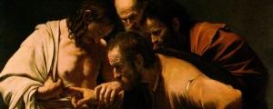 Caravaggio: The Incredulity of Saint Thomas