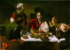 Caravaggio: The Supper at Emmaus