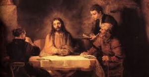 Rembrandt: Christ at Emmaus