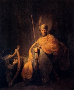 Rembrandt: King David of Israel