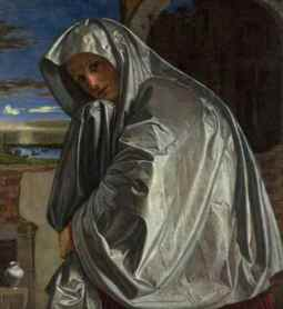 Gian Girolamo Savoldo: Mary Magdalene Approaching the Tomb