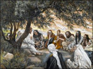 Tissot: Exhortation to the Apostles