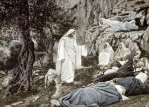 Tissot: Jesus Commands his Disciples to Rest
