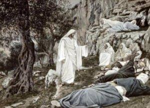 Tissot: Jesus Commands his Disciples to Rest