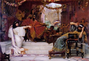 Normand: Esther Denouncing Haman