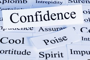 A conceptual look at confidence, poise, assurance, cool.