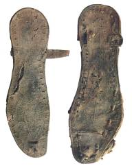 Sandals found in the Caves at Qumran