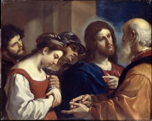 Guercino: The Woman Taken in Adultery