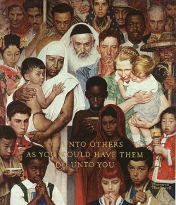 Norman Rockwell: The Golden Rule