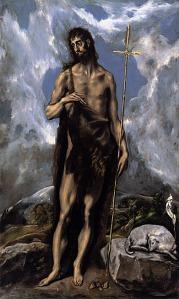 El Greco: St. John the Baptist