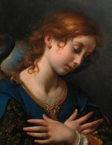 Carlo Dolci: The Angel Gabriel