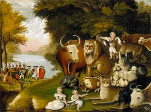 Edward Hicks: The Peaceable Kingdom