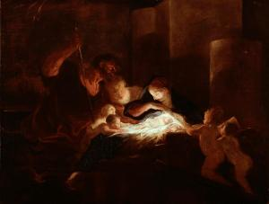 Pierre Louis Cretey: The Nativity