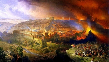 "Ercole de"" Roberti: Destruction of Jerusalem"