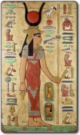 Asherah is seen as Isis in ancient Egypt