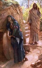 Harold Copping: Mary Magdalene and Risen Jesus