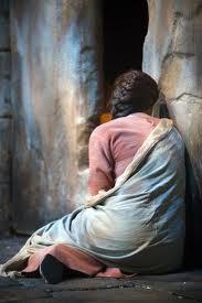 magdalene weeping at tomb