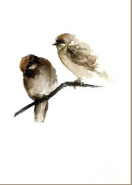birds-watercolor-painting-giclee-poster-gift-idea-two-sparrows-home-decor-joanna-szmerdt