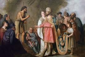 John the Baptist Preaching