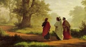 Robert Zünd: The Road to Emmaus