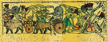 Philistine Ox Cart