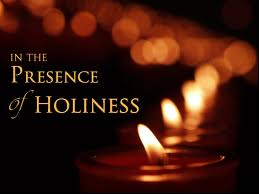 presence ofholiness