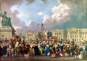 Pierre Antoine de Machy: Place de la Révolution Exécution Capitale