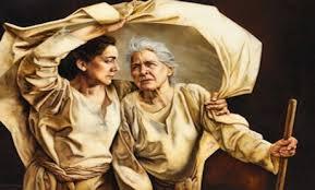 Naomi and Ruth