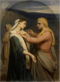 Ary Scheffer: Naomi and Ruth