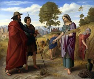 Julius Schnorr Von Carolsfeld; Ruth in Boaz's Field