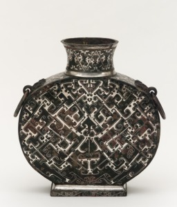 ancient wine flask