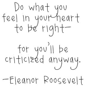 do-what-you-feel-is-right