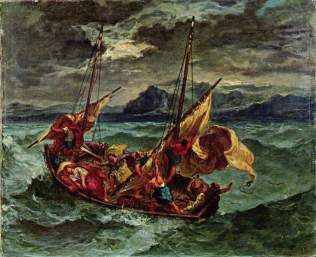Delacroix: Christ on the Sea of Galilee