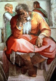 Michaelangelo: The Prophet Jeremiah