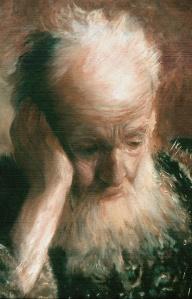 The Prophet Jeremiah after Rembrandt