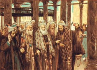 Tissot: Chief Priests Talking Together