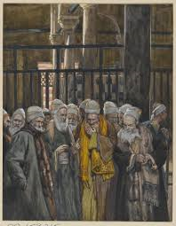 Tissot: The Pharisees Conspire Together