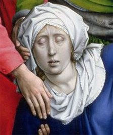 Detail from Roger Van Der Weyden: The Descent From the Cross